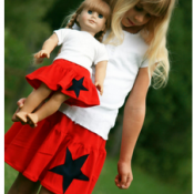 Red, White, & Blue – American Girl Style!