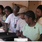 Zambian Seamstresses In Class…
