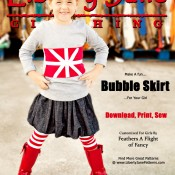 New Project – Girls Bubble Skirt…